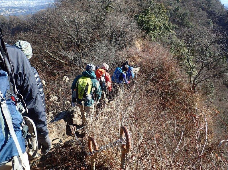 丹沢:仏果山から経ヶ岳